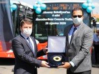 Aksaray Belediyesi'nin tercihi Mercedes Conecto Solo