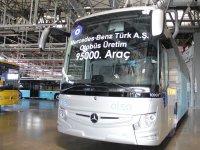 Mercedes-Benz Türk, 95.000'inci otobüsünü üretti