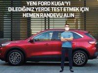 Yeni Ford Kuga ve Puma test için ayağınıza gelecek