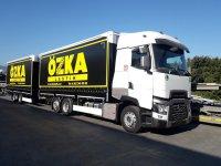 Özka'nın lastikleri Renault Trucks ile taşınacak