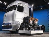 Daimler, yakıt hücreli kamyonlarını tanıttı