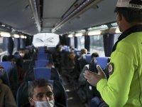 Korona temaslı yolcuya bilet satan otobüse seferden men kararı