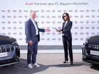 Bayern Münih, Audi ile elektriklendi