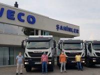 IVECO'dan Kormad'a 3 adet Trakker Teslimatı