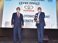 Toyota Türkiye'ye Çevre Ödülü