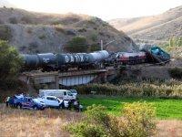 Yozgat'ta 2 yük treni çarpıştı