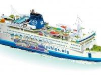 Dünyanın en büyük sivil hastane gemisi geliyor