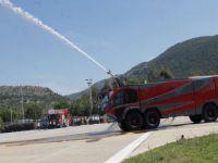 Yerli uçak yangını söndürme aracı görücüye çıktı
