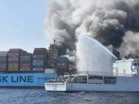 Maersk gemisindeki yangına tehlikeli yükler neden olmuş