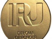 Ekol Lojistik'in 8 sürücüsüne IRU onur nişanı