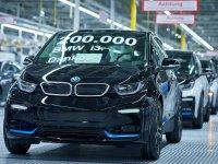 Elektrikli BMW i3 modelinin 200 binincisi banttan indi