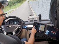 Sanal refakatçi, kamyonların yollardaki güvenliğini artırıyor