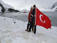 Antartika'ya Türk Bayrağı dikilecek