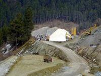lgaz Tüneli'nde Çalışmalar Sürüyor