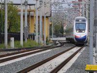 Hızlı Tren inşaatında şaşırtan eylem