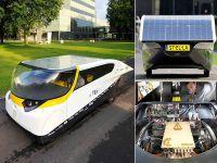Dünyanın ilk güneş enerjili aile arabası Stella