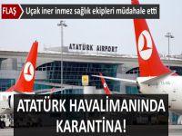 Atatürk Havalimanı'nda ebola virüsü paniği