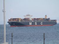 MSC filosunun en büyük gemisi Asyaport'ta