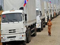 Rusya'ya ait 100 adet TIR Ukrayna'ya girdi