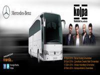 Travego Firarda Kolpa konserleri Antalya'da'da devam ediyor