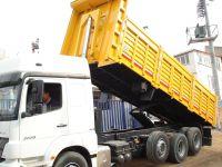 Damperi açılan kamyon sesli olarak uyaracak