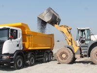 Scania'nın inşaat araçları sahaya iniyor