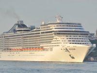 Kruvaziyer gemide 292 bin yolcu taşındı