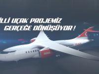 Made-in Turkey yolcu uçağı geliyor