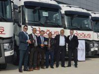 Renault Trucks, 50 aracın ilk 7'sini Doğuş'a teslim etti
